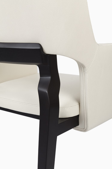 Gallatin Dining Arm Chair by CASTE | Restaurant chairs