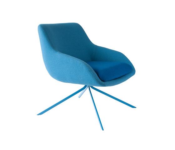Blue Armchair de Palau | Fauteuils d'attente