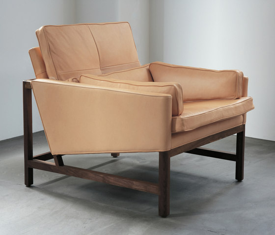 Low Back Lounge Chair by BassamFellows | Lounge chairs
