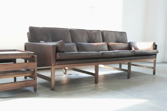 Low Back Sofa by BassamFellows | Lounge sofas