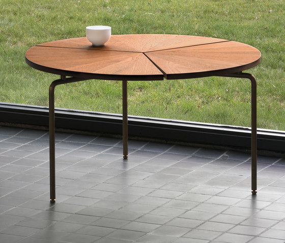 Circular Dining Table by BassamFellows | Restaurant tables