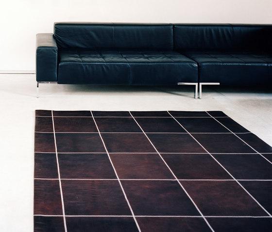 Leather Carpet by KURTH Manufaktur | Rugs / Designer rugs
