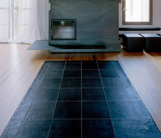 Leather Carpet by KURTH Manufaktur | Rugs