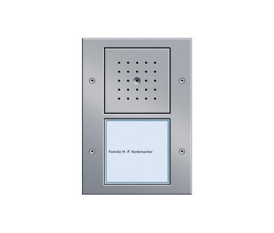 Door station 1-gang de Gira | Timbres / Placas timbres