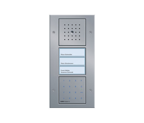 Additional functions for door stations by Gira | Door bells