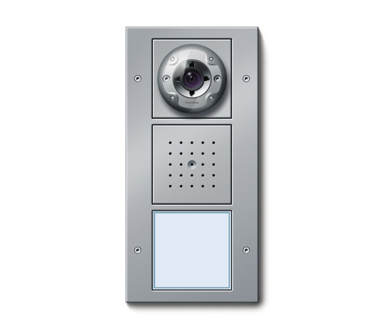 Door station ap video intercoms exterior from gira for Front door video intercom