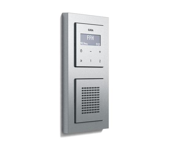 RDS flush-mounted radio   E2 di Gira   Sistemi radio