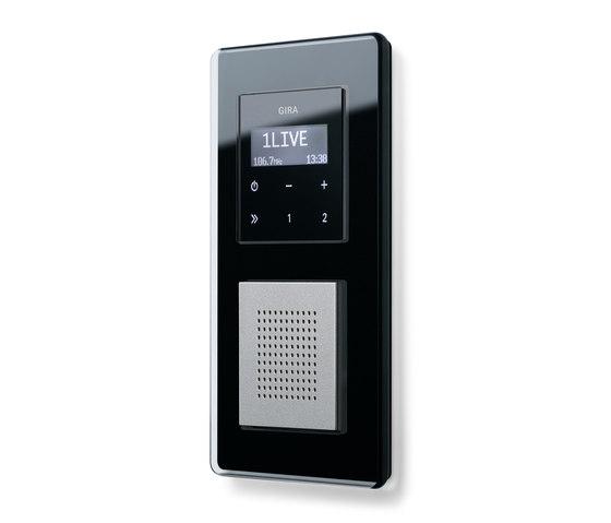 RDS flush-mounted radio | Esprit di Gira | Sistemi radio