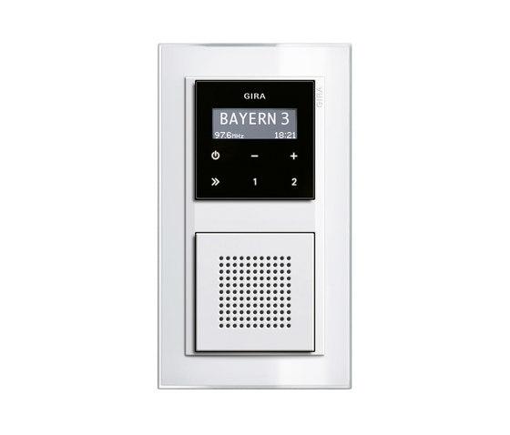 RDS flush-mounted radio | Event di Gira | Sistemi radio