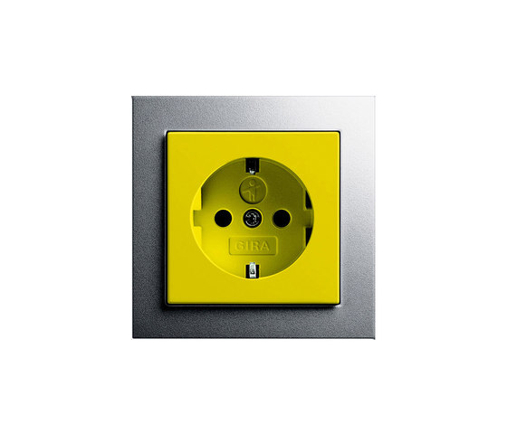 SCHUKO-socket outlet | E2 by Gira | Schuko sockets