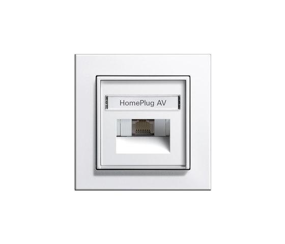 HomePlug AV-network connecting box   E2 by Gira   Data communication
