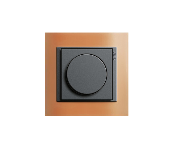 rotary dimmer by gira standard 55 product. Black Bedroom Furniture Sets. Home Design Ideas