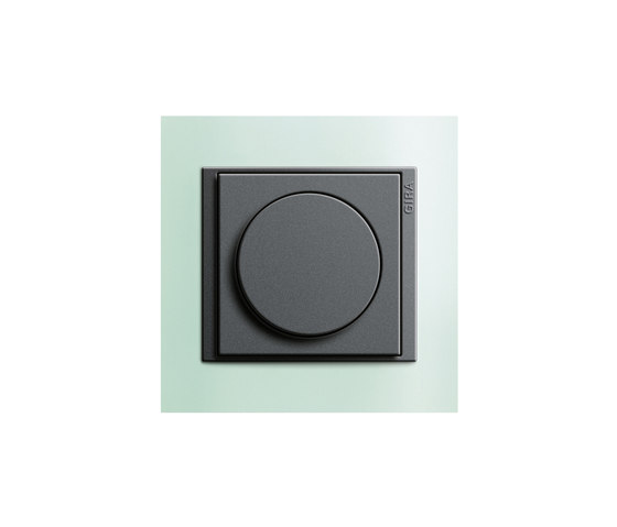 Rotary dimmer by Gira   Rotary dimmers