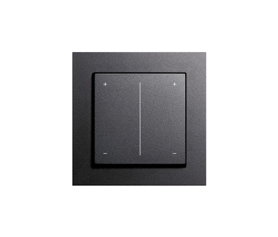 series dimmer by gira e2 esprit e22 event f100. Black Bedroom Furniture Sets. Home Design Ideas