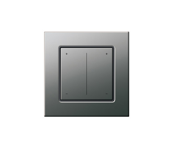 Series dimmer | E22 by Gira | Button dimmers