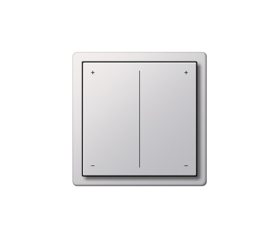Series dimmer | F100 by Gira | Button dimmers