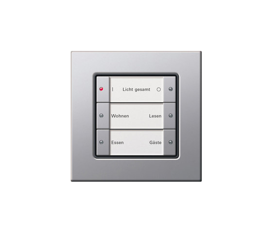 Light scene push button sensor | E22 by Gira | Lighting controls