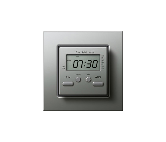 Electronic time clock by Gira   Timers