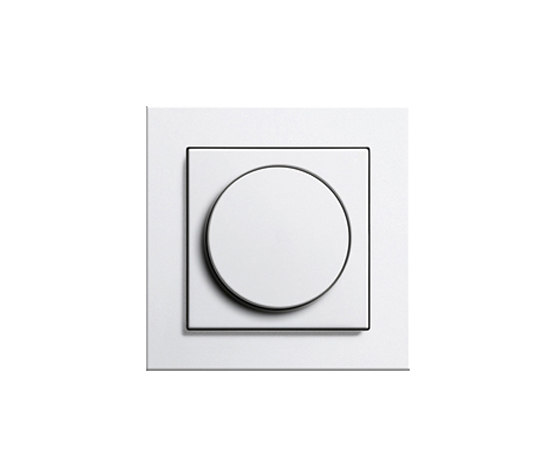 ledotron e2 rotary dimmers from gira architonic. Black Bedroom Furniture Sets. Home Design Ideas