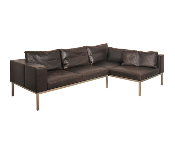 Leather couch de KURTH Manufaktur | Canapés