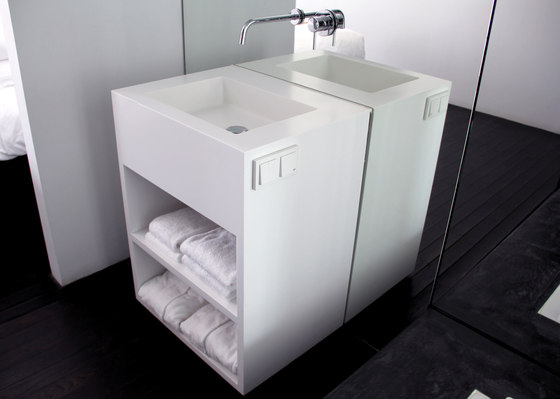 Base basin de Not Only White B.V. | Meubles lavabos