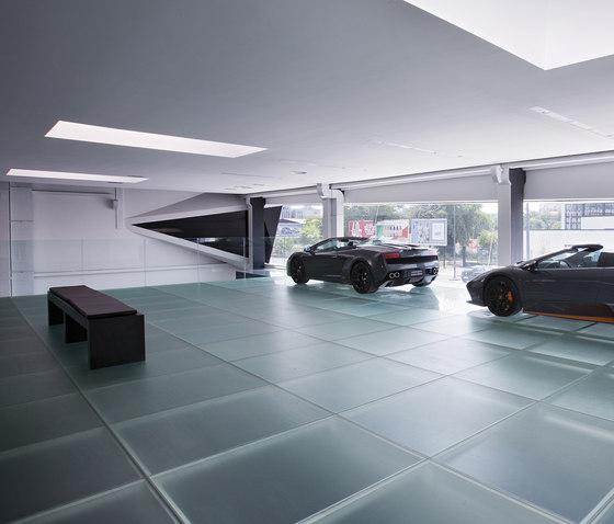 Madras® Pixel Flooring de Vitrealspecchi | Sols en verre