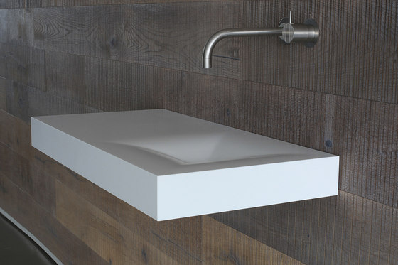Moss basin by Not Only White B.V. | Wash basins