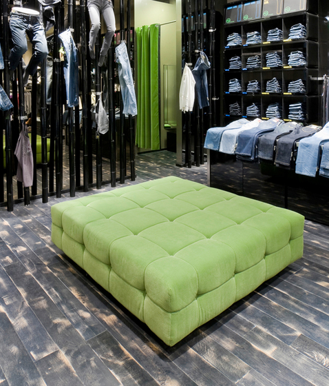 Marc 'o Polo | Lounge cube by KURTH Manufaktur | Poufs