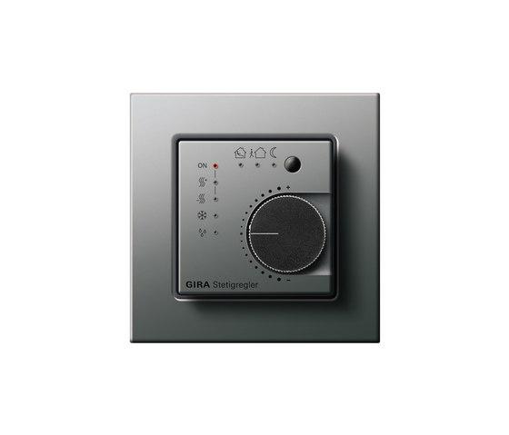 Stetigregler | E22 by Gira | Heating / Air-conditioning controls