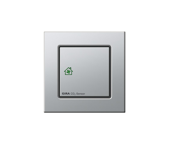 Raumluft-Sensor CO₂ | E2 by Gira | Heating / Air-conditioning controls