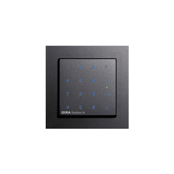Keyless-In | Keypad | E2 by Gira | Code locks