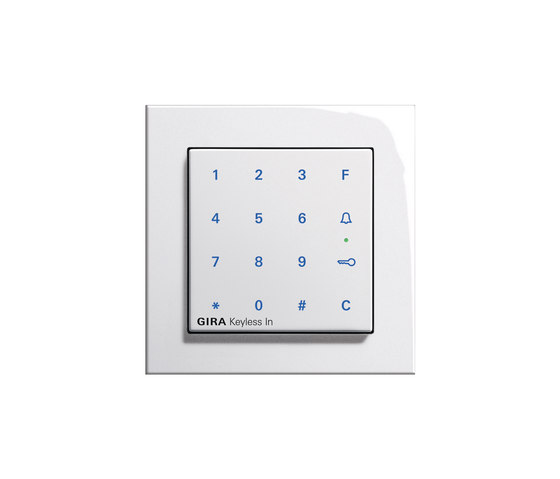 Keyless-In | Keypad | E2 by Gira | Code locks