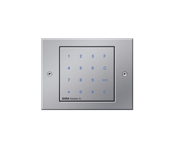Keyless-In | Keypad | TX_44 by Gira | Code locks