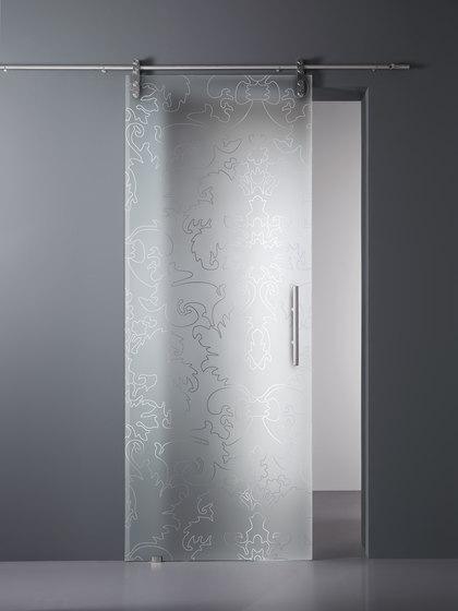 Madras® Barocco Maté by Vitrealspecchi | Decorative glass