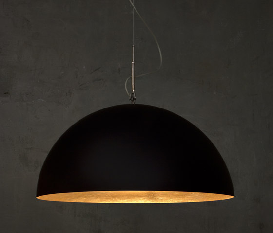 Mezza Luna black/gold by IN-ES.ARTDESIGN | General lighting