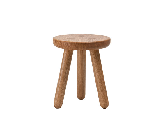 Kids Stool - Oak / Natural de Another Country | Tabourets