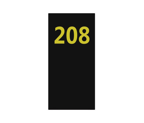 Lighthouse system signage 208 by AMOS DESIGN | Room signs
