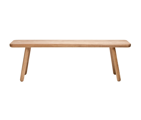 Bench - Oak/Natural di Another Country | Panche