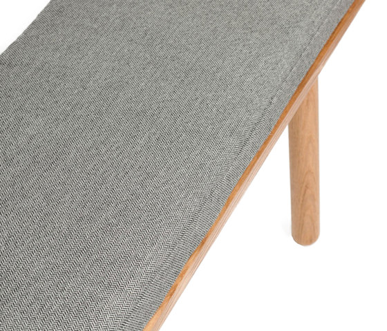 Bench Back - Oak/Natural di Another Country | Panche