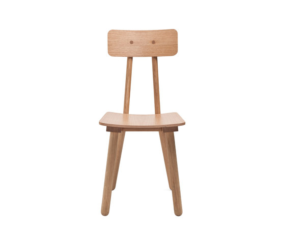 Another Chair - Oak/Natural by Another Country | Restaurant chairs