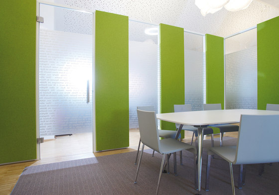 Pure meeting combinations de acousticpearls | Paneles de pared