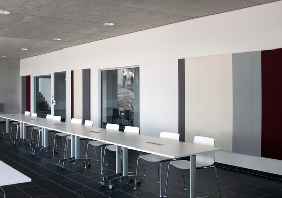Pure meeting combinations de acousticpearls | Panneaux muraux