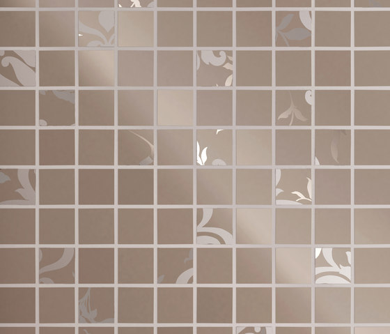 Mayfair | Mosaico Palace Warm Grey von Lea Ceramiche | Bodenfliesen