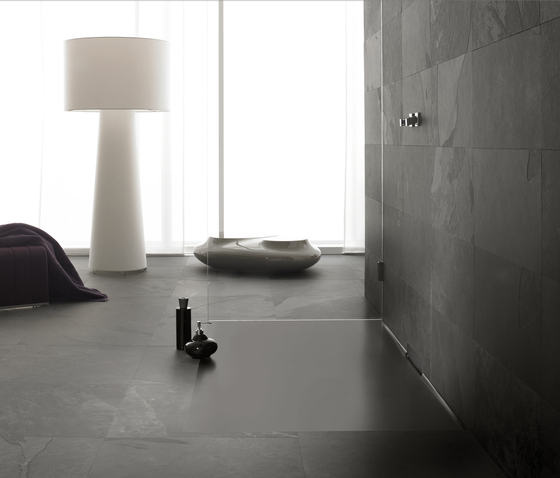 Xetis grey by Kaldewei | Shower trays