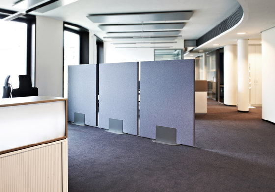 ARCHITECTS ground level by acousticpearls | Space dividers