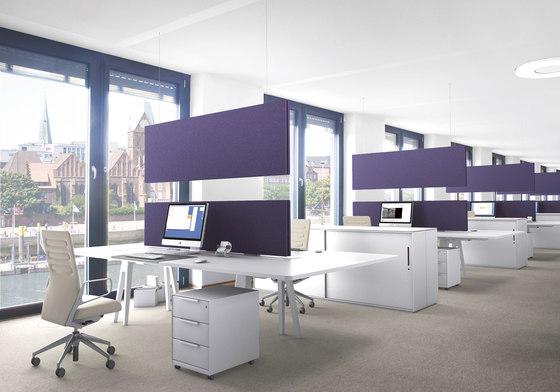 ARCHITECTS desktop de acousticpearls | Écrans privatifs