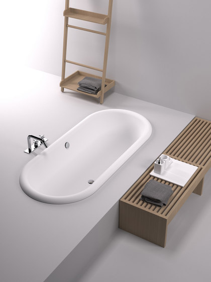 Ottocento Incasso by Agape | Built-in bathtubs