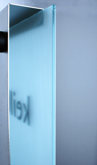 Glasnost.Display.Glass by keilbach | Room signs