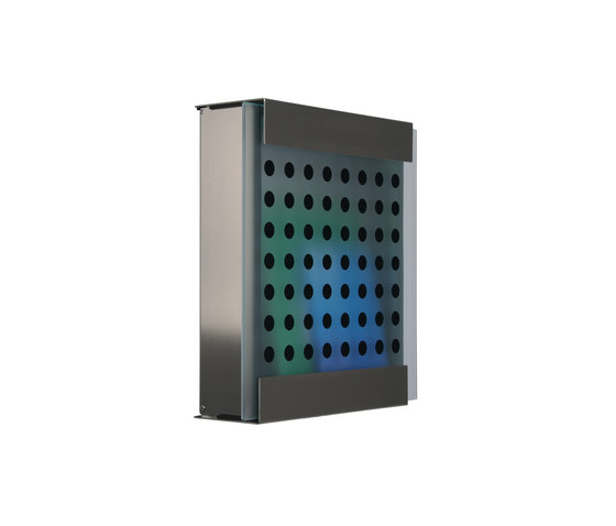 Glasnost.Glass.Black-Dots Mailbox by keilbach | Mailboxes