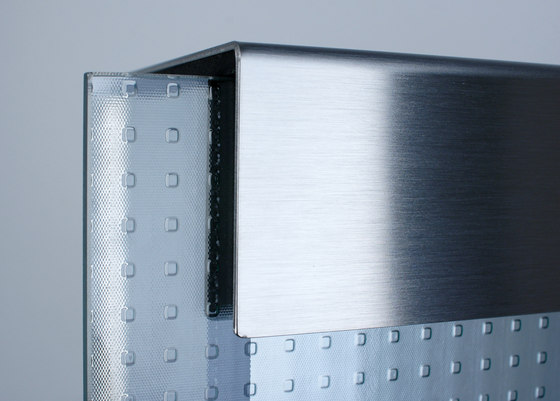 Glasnost.Glass.Mastercarre Mailbox by keilbach | Mailboxes